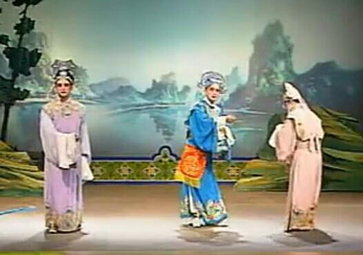 荆州花鼓戏 站花墙